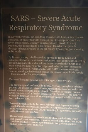 SARS Severe Acute Respitory Syndrome