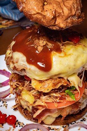 Burger de Costela com 2 blend's de 200gdo a moda da casa!