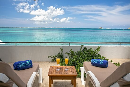 Beautiful view from your private balcony