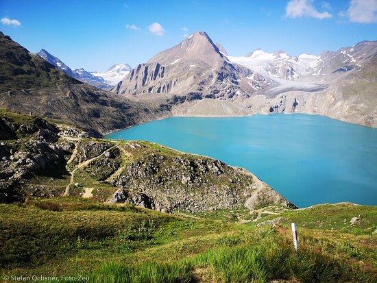 Ulrichen, Schweiz: Griesspass im Spätsommer