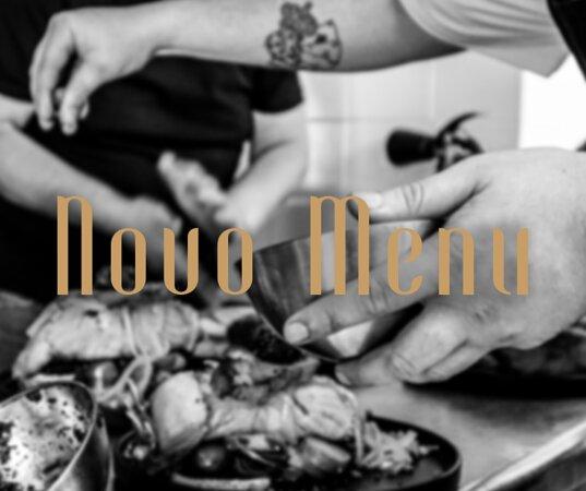 Temos um novo menu à sua espera! Somos Da Terra, Do Mar e da Tradição.