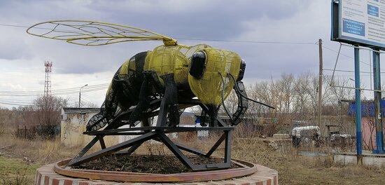 Mtsensk, Russia: Арт-объект