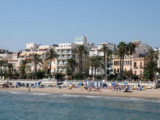 Hotel Subur, hoteles en Sitges