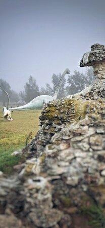 Parque de la Prehistoria  Livio Curto Eduardo Castex. La Pampa Patagonia Argentina