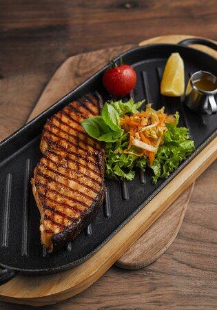 Sturgeon grill