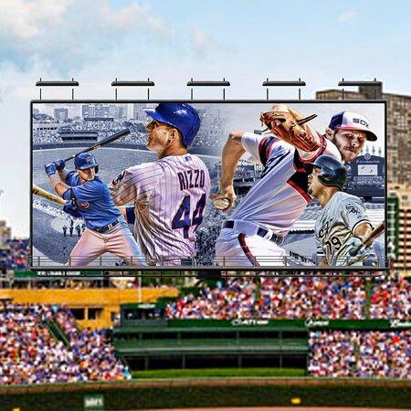 """Chicago tem dois times que disputam a MLB (Major League Baseball): o Cubs e o White Sox, basicamente divididos em norte e sul. Já falamos delas aqui na nossa timeline no @chicagobarsantos   O norte de Chicago é território dos Cubs!   Em 2016 eles quebraram um tabu de 108 anos sem ganhar um World Series (o último havia sido em 1908 e o primeiro em 1907). E assim o Cubs empatou em títulos com o seu rival de cidade, o White Sox´s, abandonando o terrível apelido de """"Lovable Losers""""."""