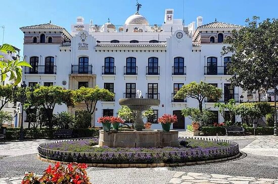 The lovely Hotel El Pilar Andalucia in the Plaza de las Flores