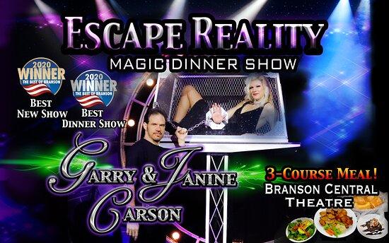 Escape Reality Magic & Illusions Garry & Janine Carson