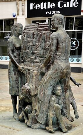 Chartist Commemorative Sculpture - Union, Prudence, Energy