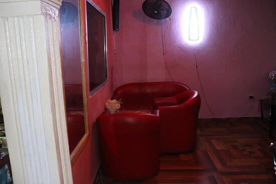 Inside our cozy corner
