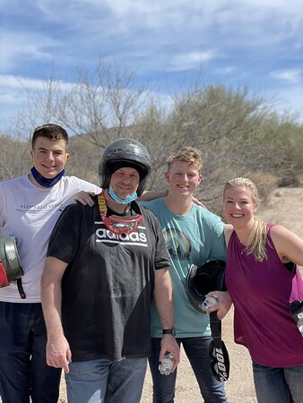 Sonoran Desert 2 Hour Guided ATV Adventure: 2hr ATV Tour