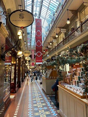 Lovely historical arcade