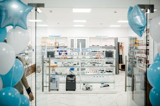 """Chisinau, Moldova: După o experiență de 26 de ani în domeniul medicinei din Republica Moldova, timp în care ne-am specializat pe furnizarea tehnologiilor moderne și fiabile, ne extindem propria rețea de retail prin deschiderea magazinului fizic """"MedStore""""."""