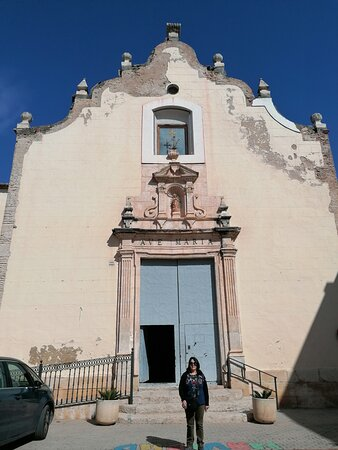 La fachada.