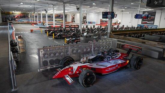 Burbank, CA: Race track