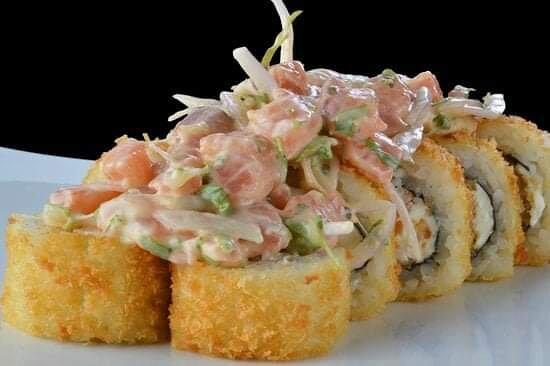 Sushi tempura acevichado