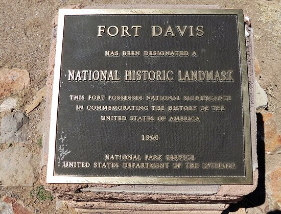 Fort Davis National Historic Site, Fort Davis TX