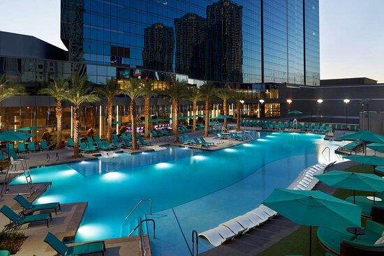 4 Bedroom Suite At Elara Review Of Elara By Hilton Grand Vacations Center Strip Las Vegas Nv Tripadvisor