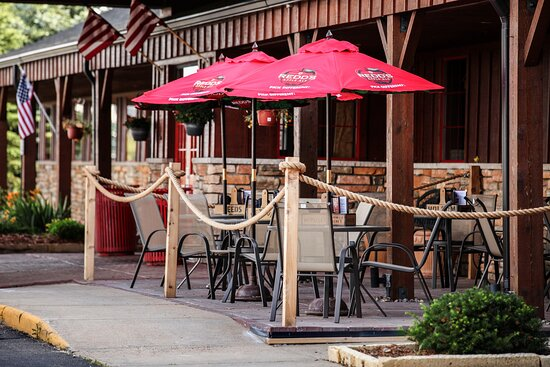 Enjoy every bit of nice MN weather with the restaurant patio