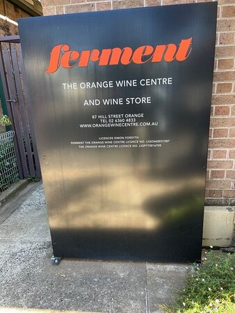 Wine tasting experience at Ferment.