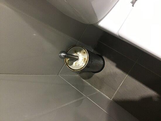 Scamander, Australia: Rusty toilet brush