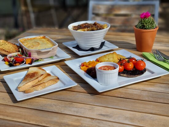 Our outdoor seating area is now back open from 9am-4pm (weather permitting) and so is our full SG menu