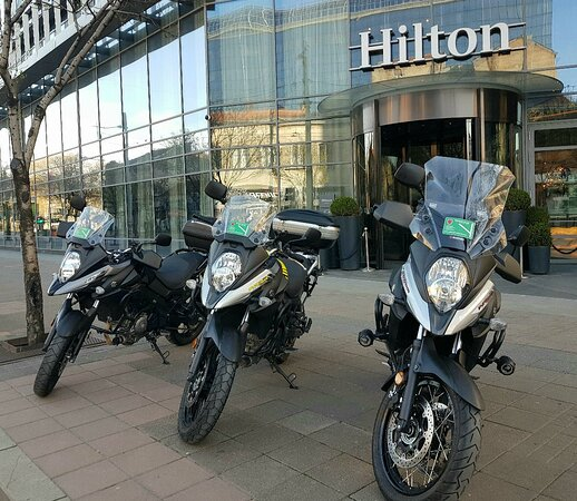 Adventure ready bikes delivered to your hotel in Belgrade!