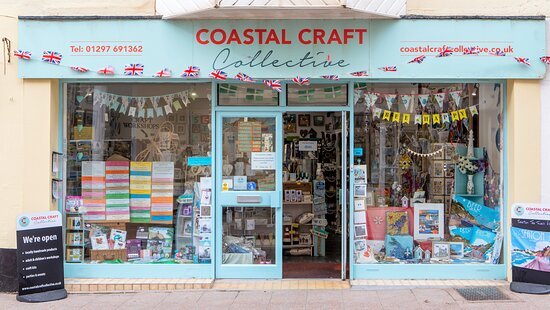 Coastal Craft Collective, Seaton Devon. Locally handmade gifts, craft classes for adults and children, crafts for kids, craft kits for adults