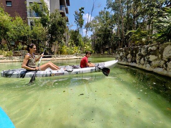 We provide private transportation to any Airbnb, hotel or private Home in Riviera Maya, here at Ciudad Mayakoba at Lagunas Mayakoba.