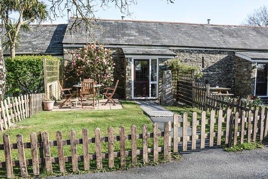 Dozmary Cottage enclosed garden