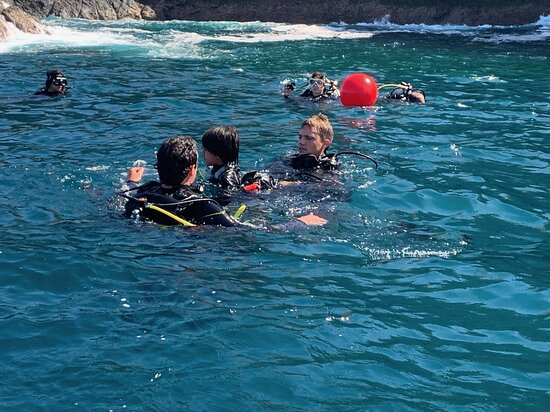 FunDive Catalina Islands (2 dives only for Certified divers): Preparing the first dive