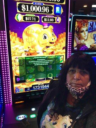 Jackpot winner!