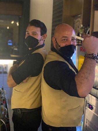 Most Amazing Barmasters at lobby bar