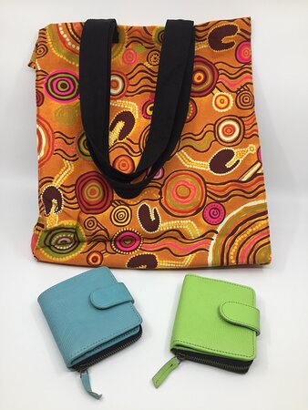 Wallets and Bags.