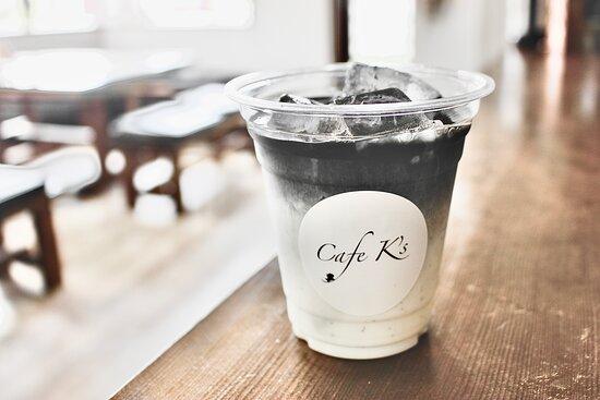 チャコールオレ(Charcoal cafe au lait)