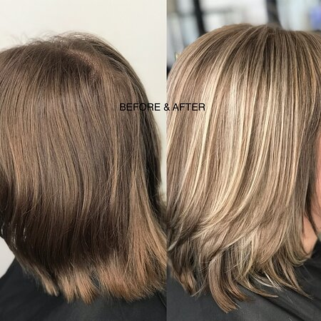 Rosedale, Nueva Zelanda: If it's a drastic change you need let our blonde specialist take you there. We love sharing photos of our work.... maybe you'll be our next!