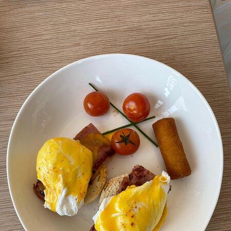 Very nice breakfast offer