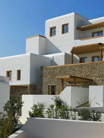 The simplicity of Cycladic Architecture