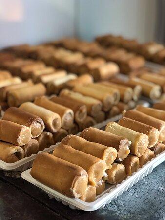 Itaverava, MG: Para quem não passou no Jair neto e não pediu o doce de canudo não passou pela cidade! Esse doce é incrível!