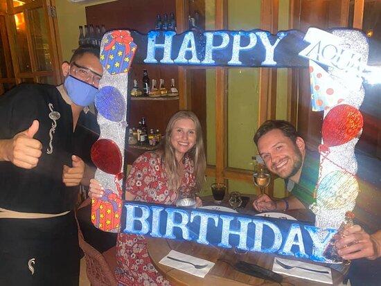 Birthday celebration at Hidden Garden!