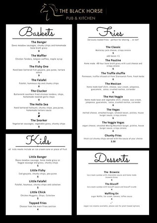 Marquee menu available now!🍴