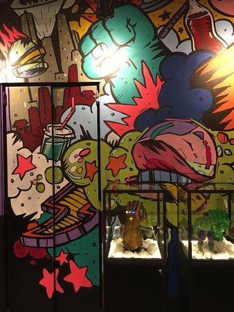Autoria Nuno Miguel Barros (Skorface) Grafite Maringá PR