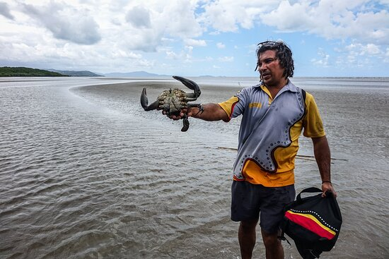 Ngana Julaymba Dungay - Full Day: Juan caught this massive one and cooked him on the beach (very tasty).