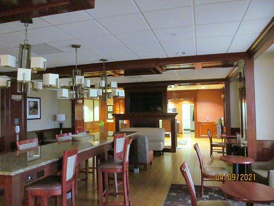 Southgate, MI: Breakfast area.