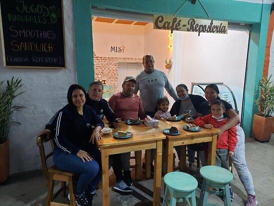 La Cumbre, Colombia: Visitas felices!!!! 🤗