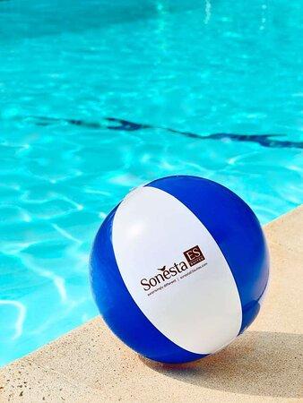 The Dip Beach Ball