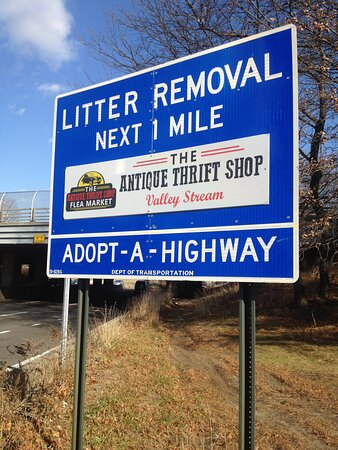 Valley Stream, NY: We are a proud sponsor of the Adopt-A-Highway litter removal  program.