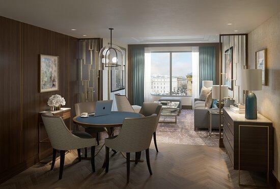 InterContinental London Park Lane - Mayfair Deluxe Suite Lounge