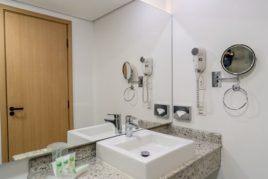 Spacious bathrooms to recharge after a long day.