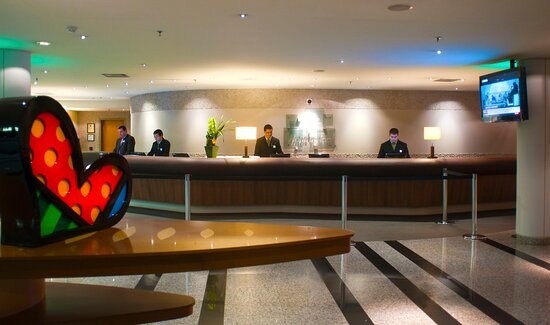 The Front Desk where expert and friendly staff are ready to help.